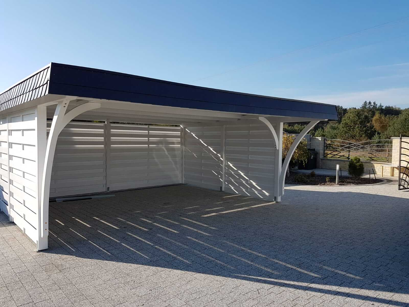 garaż wiata korsyka kempar