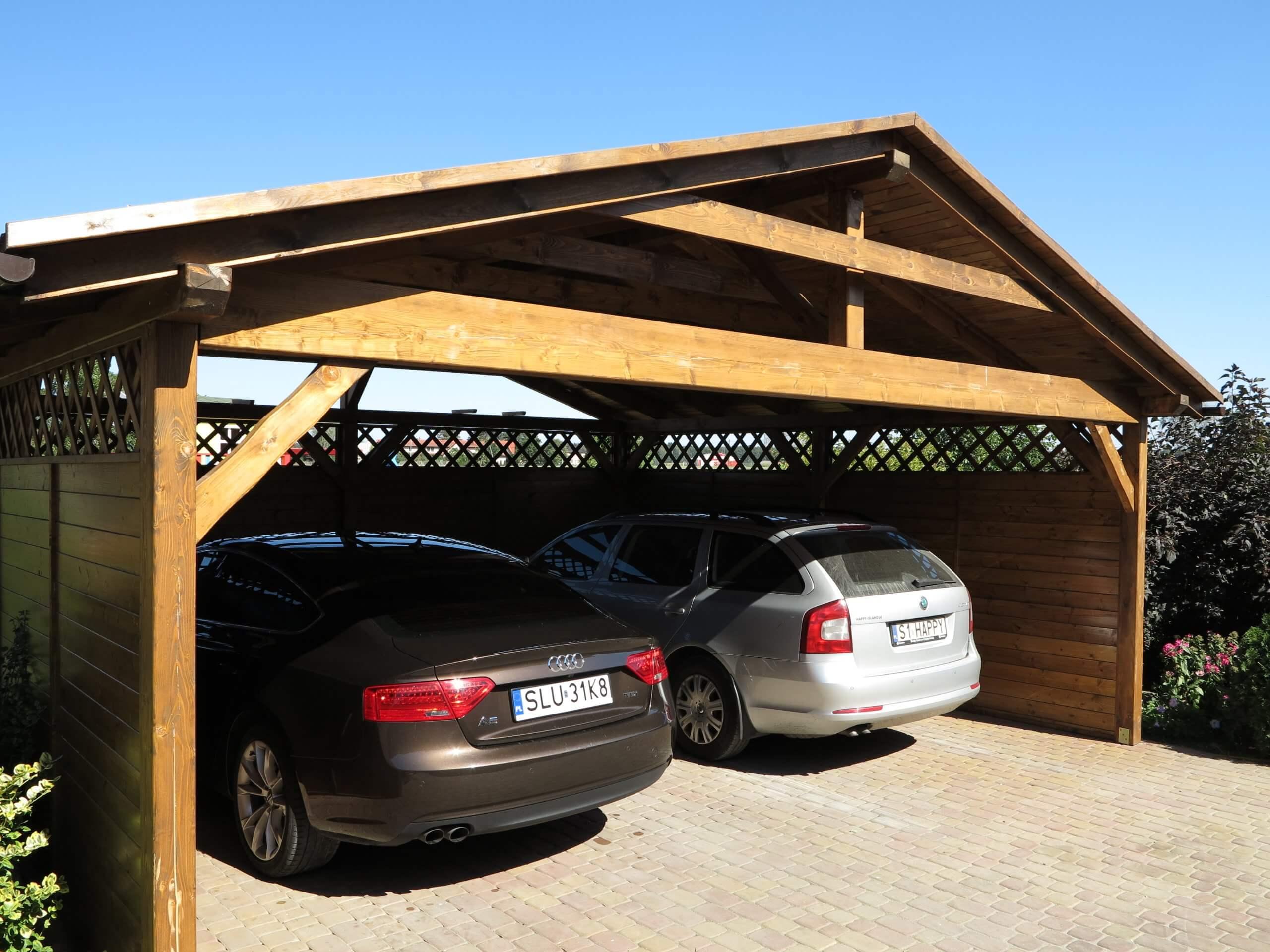 garaż wiata akacja kempar