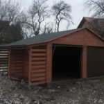 garaż wiata islandia kempar